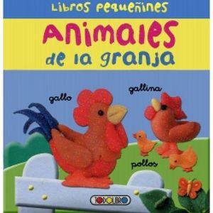 LIBROS PEQUEÑINES ANIMALES DE LA GRANJA