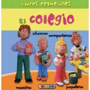 LIBROS PEQUEÑINES EL COLEGIO