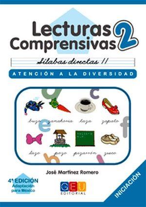 LECTURAS COMPRENSIVAS 2 -CURSIVA-