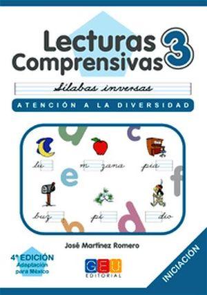 LECTURAS COMPRENSIVAS 3 -CURSIVA-