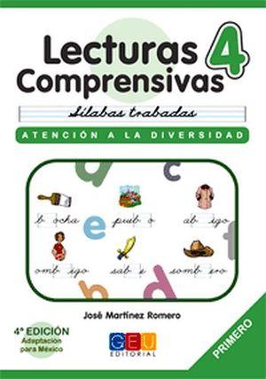 LECTURAS COMPRENSIVAS 4 -CURSIVA-
