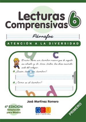 LECTURAS COMPRENSIVAS 6 -CURSIVA-