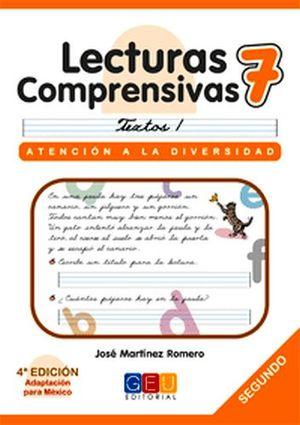 LECTURAS COMPRENSIVAS 7 -CURSIVA-