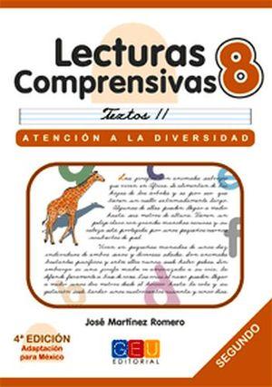 LECTURAS COMPRENSIVAS 8 -CURSIVA-