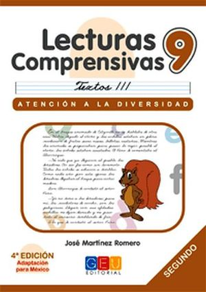 LECTURAS COMPRENSIVAS 9 -CURSIVA-