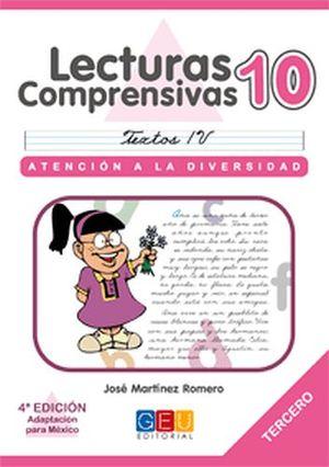 LECTURAS COMPRENSIVAS 10 -CURSIVA-