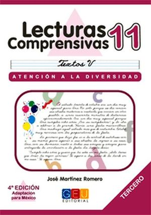 LECTURAS COMPRENSIVAS 11 -CURSIVA-