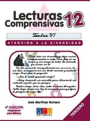 LECTURAS COMPRENSIVAS 12 -CURSIVA-