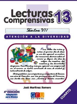 LECTURAS COMPRENSIVAS 13 -CURSIVA-