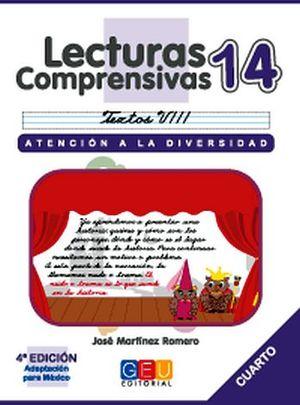 LECTURAS COMPRENSIVAS 14 -CURSIVA-