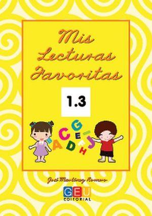 MIS LECTURAS FAVORITAS 1.3 -CURSIVA-