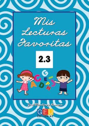 MIS LECTURAS FAVORITAS 2.3 -CURSIVA-