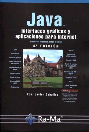 JAVA -INTERFACES GRAFICAS Y APLICACIONES P/INTERNET- 4ED.