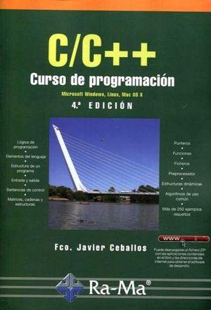 C/C++ CURSO DE PROGRAMACION 4ED.