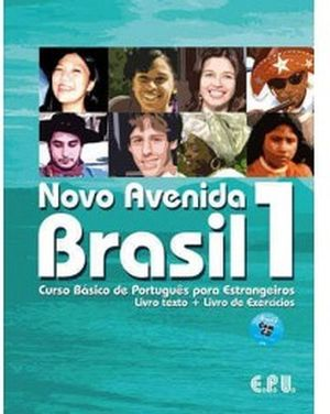 NOVO AVENIDA BRASIL 1 SET (BOOK,WORKBOOK,CD)