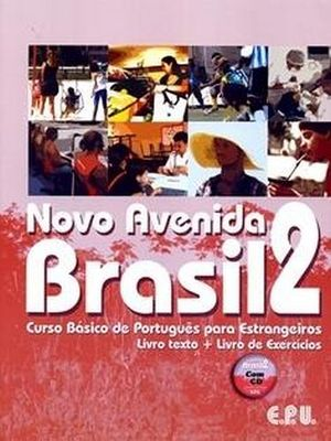 NOVO AVENIDA BRASIL 2 SET (BOOK,WORKBOOK, CD)