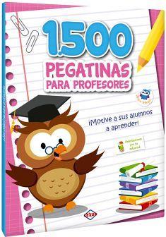 1500 PEGATINAS PARA PROFESORES ¡MOTIVE A SUS ALUMNOS A APRENDER!