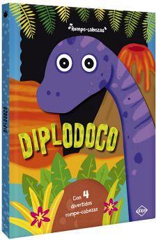 DIPLODOCO                          (C/4 DIVERTIDOS ROMPE-CABEZAS)