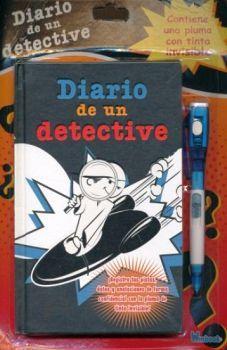DIARIO DE UN DETECTIVE              (C/PLUMA CON TINTA INVISIBLE)