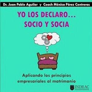 YO LOS DECLARO... SOCIO Y SOCIA -APLICANDO LOS PRINCIPIOS-