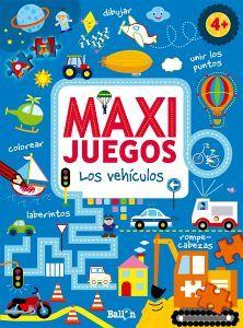 MAXI JUEGOS -LOS VEHICULOS-              (4+)