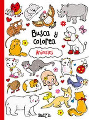 BUSCA Y COLOREA -ANIMALES-