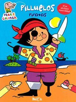PEGA & COLOREA -PILLUELOS PIRATAS- (C/STICKERS)