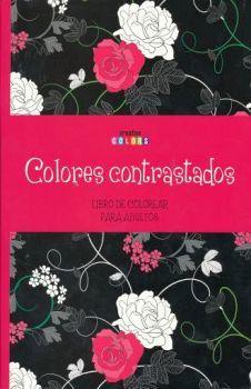 COLORES CONTRASTADOS -LIBRO DE COLOREAR PARA ADULTOS-