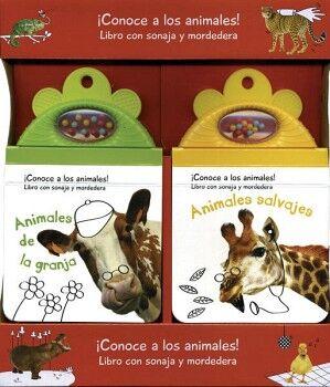CONOCE A LOS ANIMALES! (PAQ. ANIMALES DE LA GRANJA/ANIMALES SAL.)