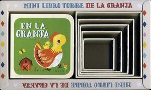 MINI LIBRO TORRE DE LA GRANJA    (C/1 LIBRO Y 5 CUBOS)