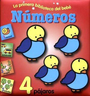 NUMEROS           -LA PRIMERA BIBLIOTECA DEL BEBE-