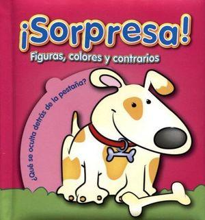 SORPRESA! -FIGURAS, COLORES Y CONTRARIOS-
