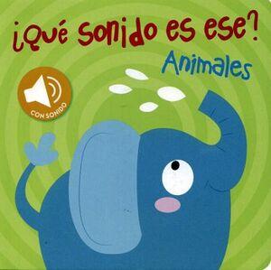QUE SONIDO ES ESE? -ANIMALES-     C/SONIDO