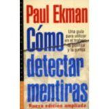COMO DETECTAR MENTIRAS (ED.ARGENTINA)