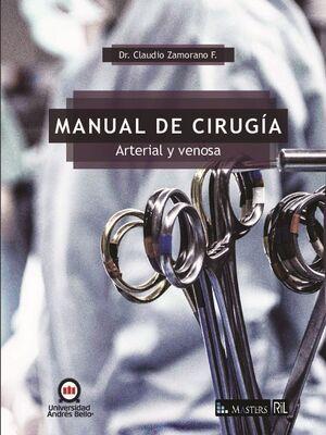 MANUAL DE CIRUGÍA ARTERIAL Y VENOSA