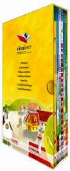 PACK INFANTIL VIVA LEER #2 -AMARILLO/PUEBLO- (C/6 LIBROS)
