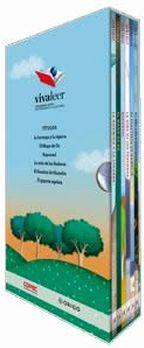 PACK INFANTIL VIVA LEER #3 -AZUL/ARBOLES- (C/6 LIBROS)