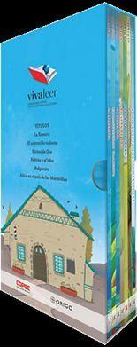 PACK INFANTIL VIVA LEER #4 -AZUL/CASAS-   (C/6 LIBROS)