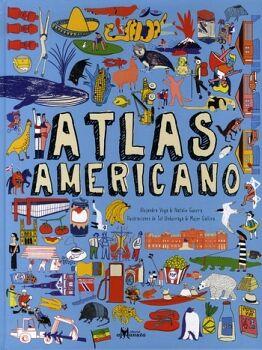 ATLAS AMERICANO                           (GF/EMPASTADO)