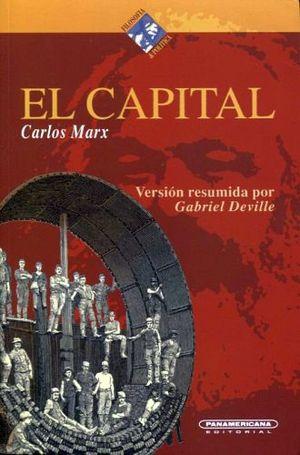 CAPITAL, EL (COL.FILOSOFIA & POLITICA)                       (PL)