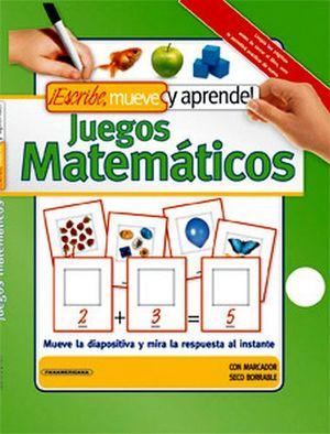 Escribe Mueve Y Aprende Juegos Matematicos C Marcador