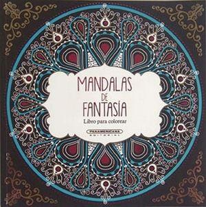 MANDALAS DE FANTASIA         -LIBRO P/COLOREAR-