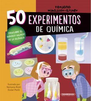 50 EXPERIMENTOS DE QUIMICA                (EMPASTADO)