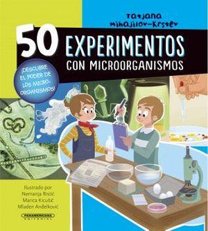 50 EXPERIMENTOS CON MICROORGANISMOS       (EMPASTADO)