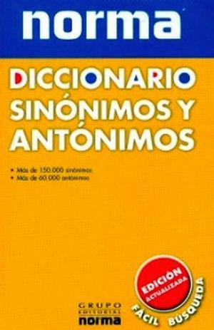 DICCIONARIO DE SINONIMOS Y ANTONIMOS   (2009)