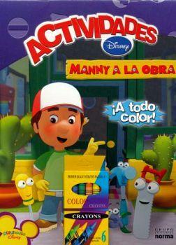 MANNY A LA OBRA -LIBRETA DE ACTIVIDADES-