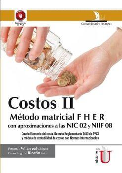 COSTOS II -METODO MATRICIAL FHER-