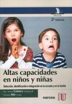 ALTAS CAPACIDADES EN NIÑOS Y NIÑAS 2ED.