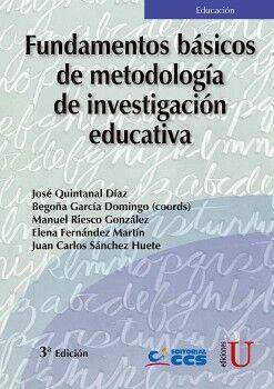 FUNDAMENTOS BASICOS DE METODOLOGIA DE INVESTIGACION EDUCATIVA