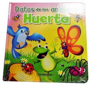 DATOS DE LOS ANIMALES  -HUERTA-